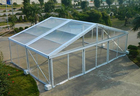 Aluminum Structure Material Luxury Clear Top Wedding Tent Waterproof Windproof