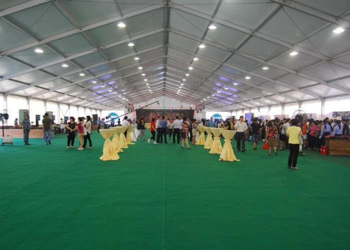 10x30 Large Wedding Event Tents , Flame Retardant Waterproof Party Tent