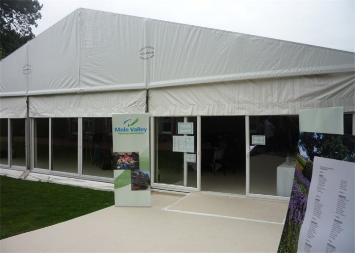 Heavy Duty Large Outdoor Trade Show Exhibition Tents 1000 Square Meters Rainproof