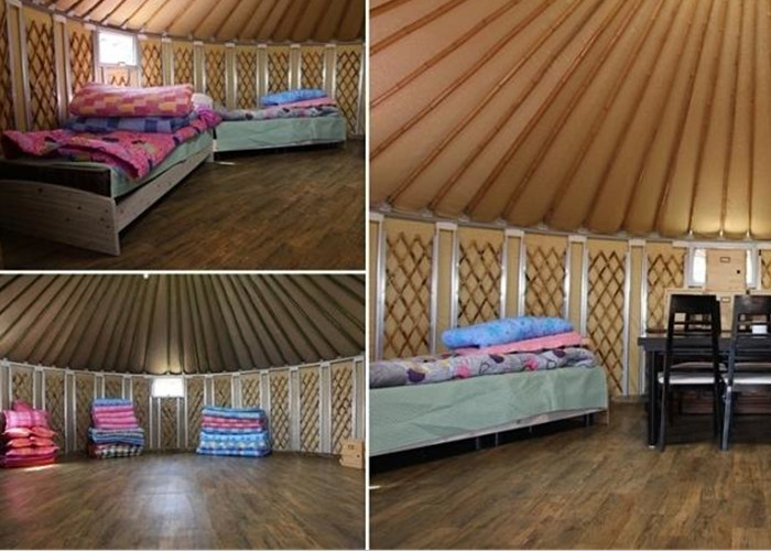 Multi Functional Mongolian Yurt Tent , Portable Family Camping Yurts Tents
